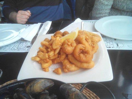 Boo Restaurant & Beach Club : fritos varios