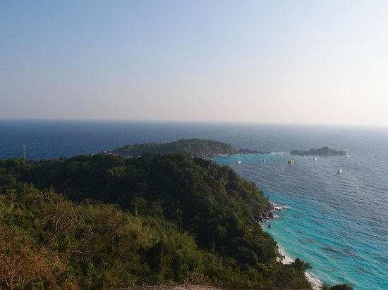 Similan Islands: トレッキングの風景