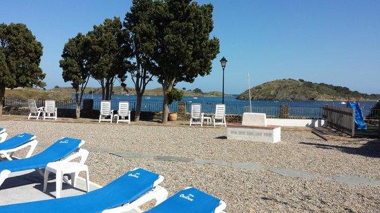 Hotel Calina: Desde la piscina