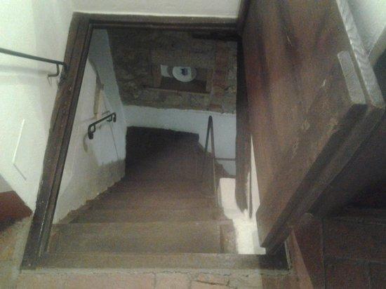 Il Borgo di Sempronio: scale antiche