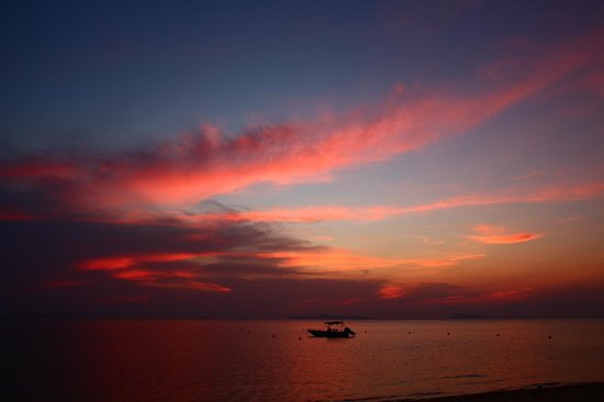 The Sunset Beach Resort & Spa, Taling Ngam: Sonnenuntergang