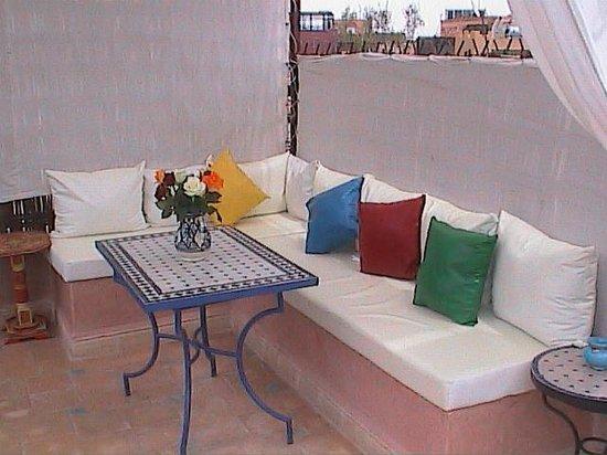 Riad Dar Yammi : terrasse