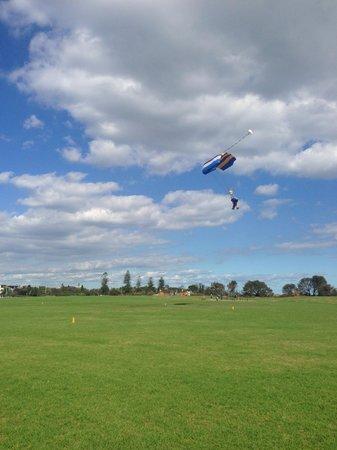 Skydive Melbourne: My landing