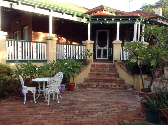 Exley House B&B: Our private entrance