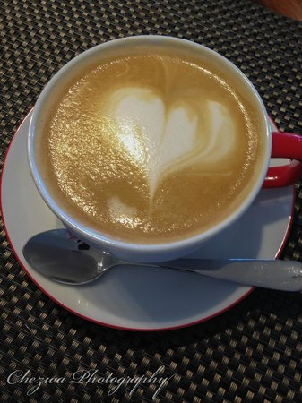 Sancerre Estate B&B: Amazing coffee creation by Stacey