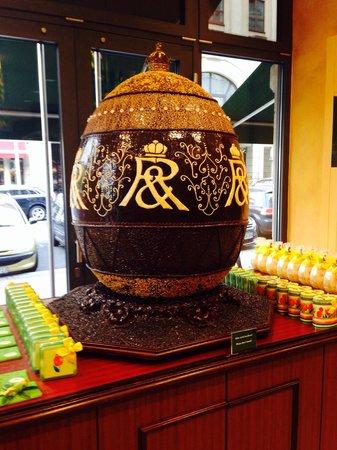 Rausch Schokoladenhaus - Café & Restaurant: Uovo di pasqua