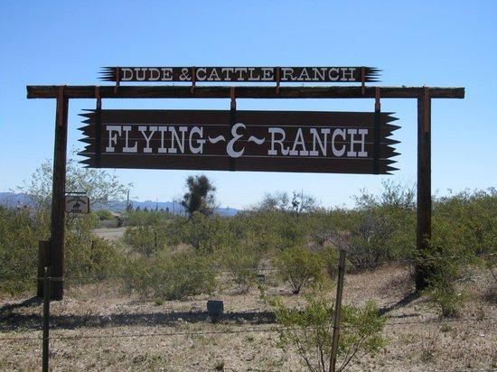 Flying E Ranch : Entrance