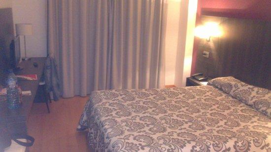Hotel Via Norte: Desde la puerta
