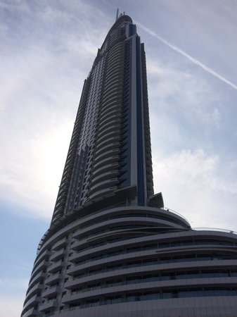 The Address Downtown Dubai - TEMPORARILY CLOSED: Exterior of the hotel