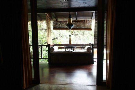 Villa Samadhi: 陽台