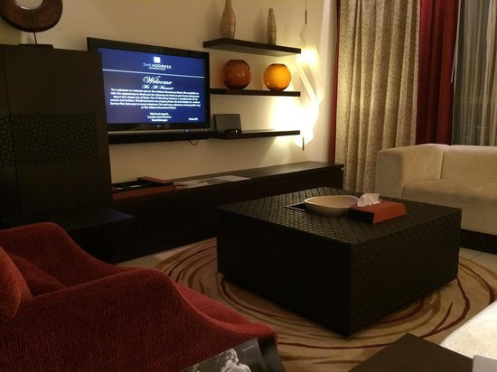 The Address Downtown Dubai : TV