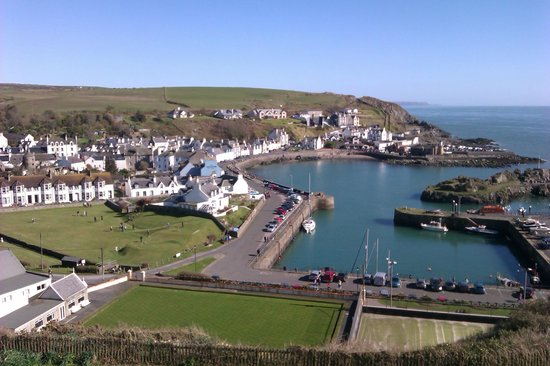 The Portpatrick Hotel: View from Room 113