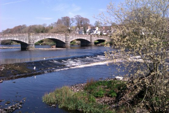 The Portpatrick Hotel : River at NewtonStewart