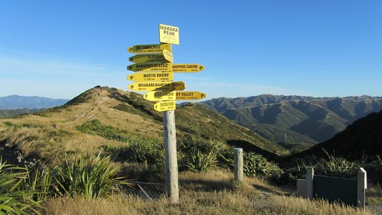 Makara Peak Mountain Bike Park