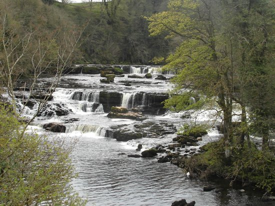 Aysgarth Falls: Upper Falls, taken from the road bridge
