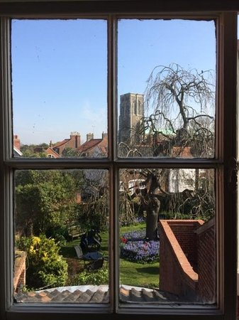 Sutherland House Hotel & Restaurant : Room with a view