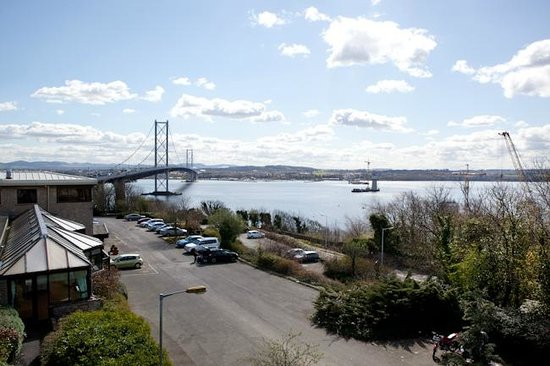 The Queensferry Hotel : This was the view from our room.