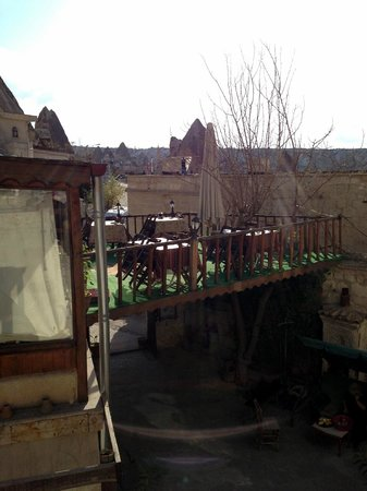 Melek Cave Hotel : Breakfast Area