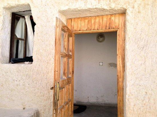 Melek Cave Hotel : Room Entrance