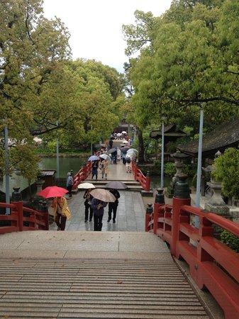 Dazaifu Temman-gu: 橋があります