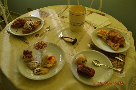 Hotel Montmartre: Colazione bomba!!!
