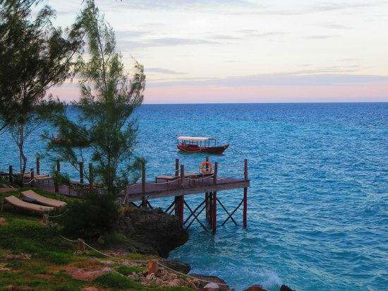 Sunshine Marine Lodge: ocean view
