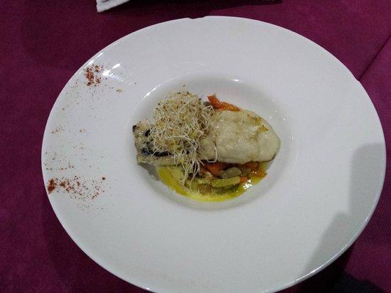 6'9 Restaurant : Merluza con verduritas - Restaurant 6,9 (Lloret de Mar)