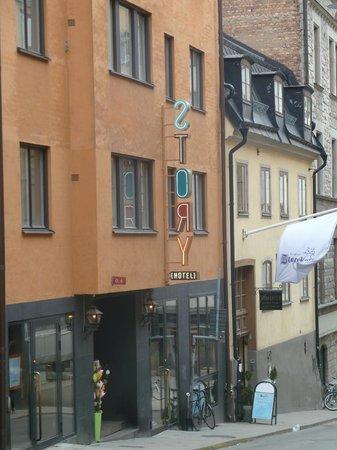 Story Hotel Riddargatan: Hotel from street