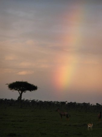 Mahali Mzuri - Sir Richard Branson's Kenyan Safari Camp: Rainbow