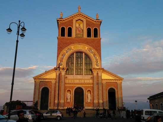 Sanctuary of the Madonna di Tindari : Facciata principale