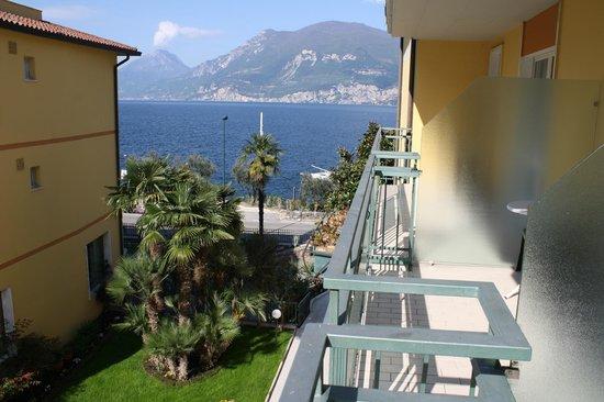 Drago Hotel: Veduta dalla camera