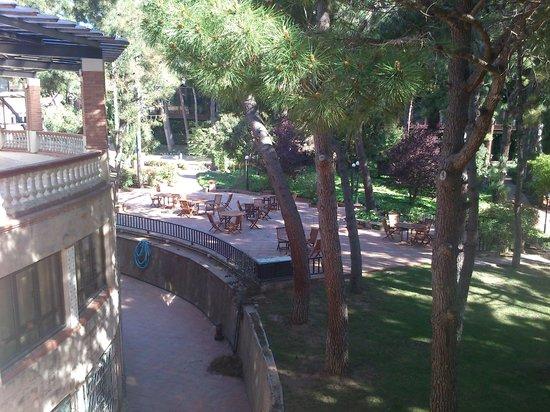 Hotel Termes de Montbrio - Resort Spa & Park: Vista desde la habitación