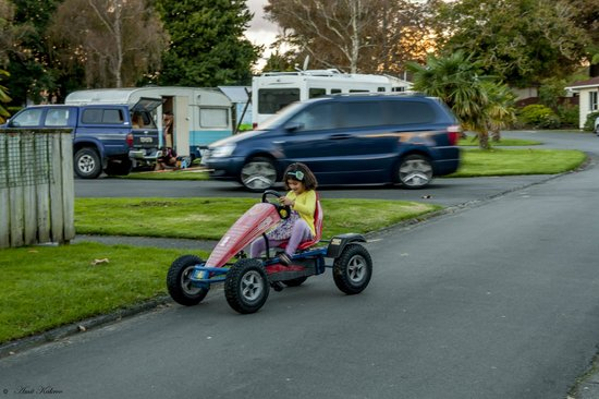 Whanganui River Top 10 Holiday Park : Kart Rides