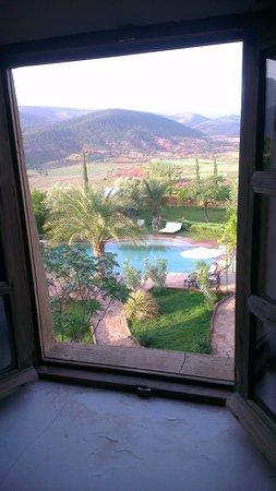 Kasbah Ouzoud Hotel : vue magnifique