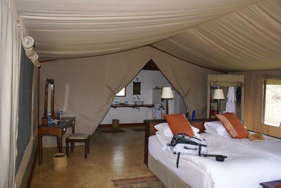 Entumoto Safari Camp : Our room