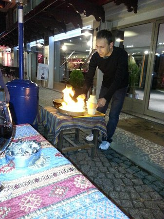 New Hatay Restaurant : Мясо в горшочке с овощами