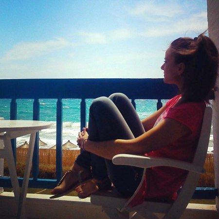 Tinos Beach Hotel: η θεα απο το δωματιο