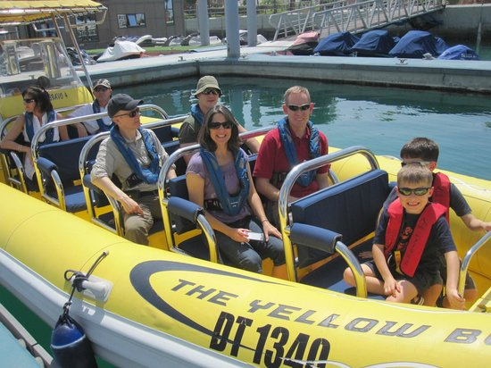 """The Yellow Boats: The """"crew"""""""