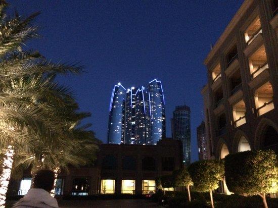 Emirates Palace : ABENDSTIMMUNG
