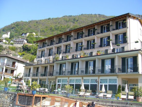 Hotel Regina: The hotel from the terrace