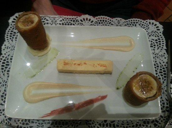Bon thé Bonheur : poulet au foie gras et supreme d'oignons
