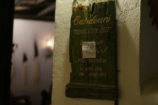 Candouni Restaurant: 入り口