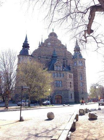 Nordiska museet: Una foto della facciata di questo imponente edificio storico.
