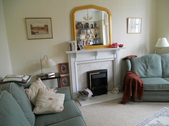 Boscombe House: The sitting room
