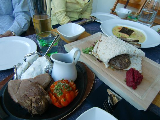 Kaarna: our lunch