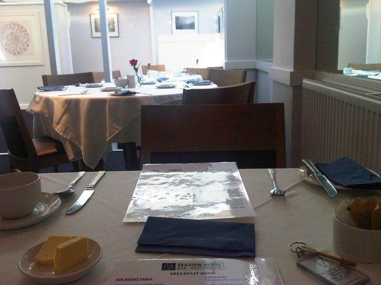 Seaview Hotel: Breakfast Room