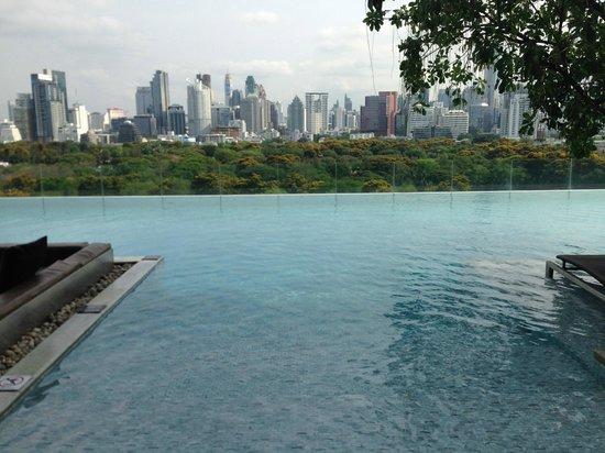 SO Sofitel Bangkok : view from pool