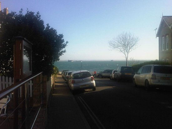 View from Seaview Hotel