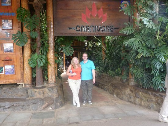 The Carnivore Restaurant: Arriving at the Carnivore