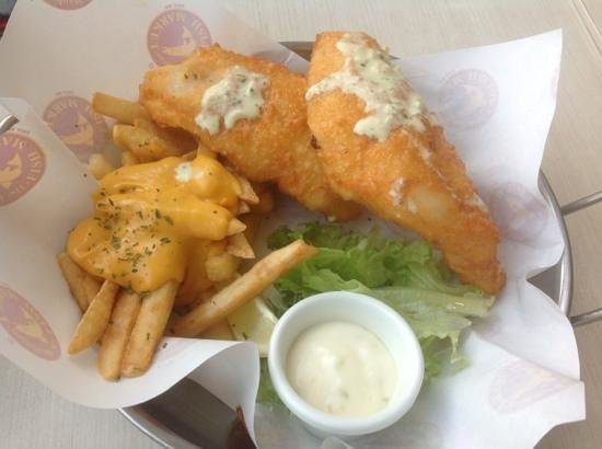 The Manhattan Fish Market: fish and chips